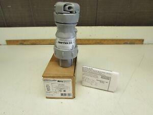 KILLARK VP3385 , Pin & Slve Plug,30A ,3P ,2W ,600VAC/250VDC , NIB! MAKE OFFER!