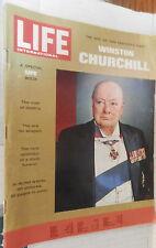 RIVISTA LIFE 1965 Speciale Winston Churchill Fuga dai Boeri Chartwell Politica