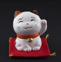 Figurina Gatto Giapponese 7cm Bobtail Made IN Maneki Neko Portafortuna 40672