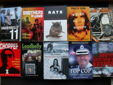 BULK TRUE CRIME BOOKS x 10 - Shocking True Crime Stories for your Library. VGC.