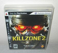 KILLZONE 2 PlayStation 3 PS3 FPS Shooter Complete w/Manual Guerilla 1st Printing