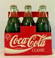 Coca-Cola Coke Vintage 6 pack with full bottles - Coke Classic