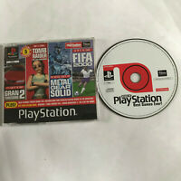 PS1 Boxed Demo Disc The Best Games Ever Official Playstation 1 Metal Gear Solid