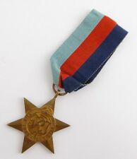 Original Issued  Unnamed WW2 Commonwealth Military The 1939 - 1945 Star  Medal