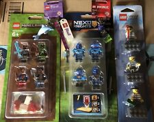 Lego MINECRAFT Pack 1 853609 Plus Nexo Knights Plus City Magnets & More See Pics