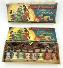 Vtg 1930's Disney Mickey Mouse Christmas Tree String Lights Noma Original Box