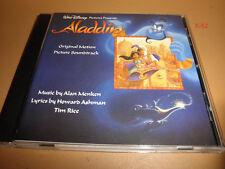 Disney ALADDIN soundtrack CD robin williams A WHOLE NEW WORLD menken ashman rice