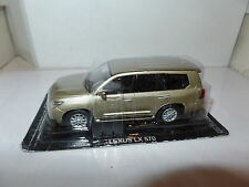 EF51 1/43 Scale Lexus LX 570 - Gold - New on blister