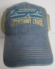 Kittatinny Canoe Hat Cap Trucker Snapback USA Embroidery Prefade New