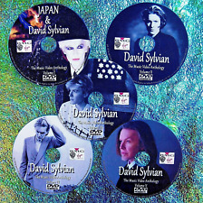 JAPAN & DAVID SYLVIAN Music Video Collection 5 DVD Set 8.5 Hours 71 Music Videos