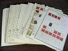 US, Excellent accumulation of Revenue & other BOB Stamps hinged on pages & in ot