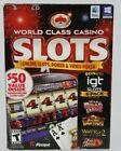 World Class Casino Slots Poker & Video Poker Pc And Mac Computer Game Software