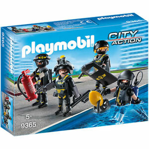 Playmobil 9365 Equipo Especial Swat Team City Action