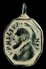 Medalla Religiosa Siglos XVI-XVII, 26x16 mm.