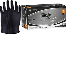 Heavy Duty Disposable Nitrile Gloves Mechanic Garage Auto Car Valeting