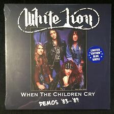 WHITE LION - When The Children Cry Demos 83-89 BLUE Vinyl LP