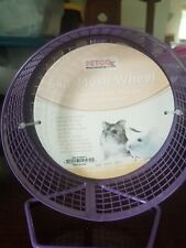 5 in. Mesh Wheel Purple For Dwarf Hamsters, Mice and other small animals