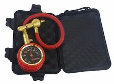 EZ Tire Deflator Corrosion Resistant Brass Stainless Gauge Display Easy To Read