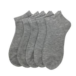SERISIMPLE Bamboo Ankle Socks Athletic Thin Sock Odor Resistant 5 Pair