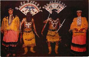 Postcard Apache Indian Devil Dance