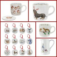 Wrendale Designs - Countryside Animal - Christmas Mugs, Jugs or Decorations