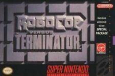 Robocop Vs. Terminator - SNES Super Nintendo Game