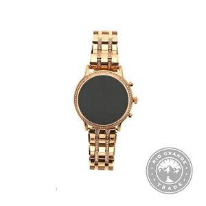 USED Fossil FTW6035 Gen 5 Julianna Touchscreen Smartwatch in Rose Gold