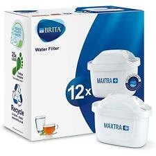12 X FILTRI BRITA MAXTRA + Caraffa Filtrante Acqua Plus Sostituzione Cartucce Ricariche Confezione da Regno Unito