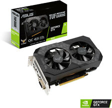 ASUS TUF OC NVIDIA GeForce GTX 1650 Kompakte 4GB GDDR6 Gaming Grafikkarte