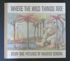 Where the Wild Things Are Maurice Sendak 25th Anniversary Edition Good Cond.
