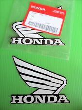 Honda Tank Sticker Decal CBR NSR 125 250 400 600 900 1000 Fireblade WHITE/BLACK
