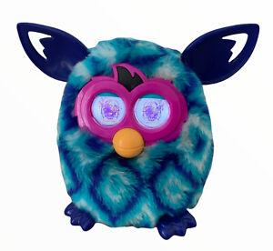 FURBY BOOM Diamond Blue Furby Crystal Interactive Toy Pet Vtg (10