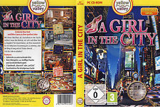 A Girl In The City * Wimmelbild-Spiel * (PC, 2012, DVD-Box)