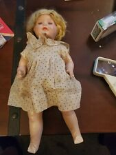 """Vintage 1920S 16"""" Fiberoid Doll Products Company Vintage Composition Doll rare"""