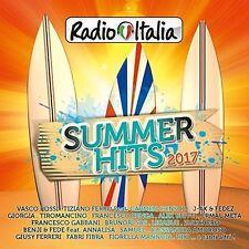 CD Radio Italia Summer Hits 2017, la compilation dell'estate 2017