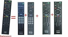 Sony BRAVIA TV Replaced Remote RM-YD025 for KDL-32L4000 KDL-37L4000 KDL-46S4100