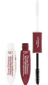 L'Oreal Double Extension Beauty Tubes Technology Mascara -Black - 100% New Item