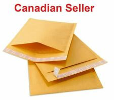 "4x8 Kraft Bubble Mailers Padded Envelopes 4""x8"" Size #000"