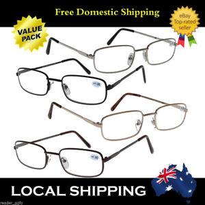 Men Mens Ladies Metal Magnifying Reading Glasses Bulk Sale Deal 1.0~4.0