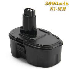 3000mAh 18V Ni-MH Batería Para Dewalt DC9096 DW9096 DE9095 DW9098 DE9039 DW9095