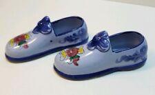 Pre-owned minature Vintage Ceramic Porcelain  Pair of Shoe