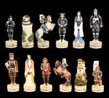 piezas de ajedrez set - SAMURAI GUERRERO - Ajedrez Figuras Veronese