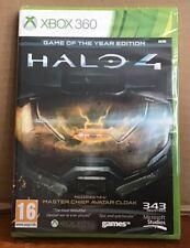 Halo 4 Edición Juego Del Año-Master Chief Avatar manto XBOX 360 Nuevo Sellado