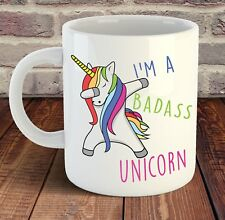 I am a Badass Unicorn, Magical uncorn mug 11oz Ceramic Mug Cup - Novelty Mug