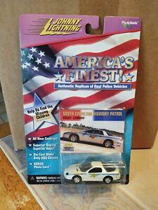 Johnny Lightning Americas Finest South Carolina Highway Patrol Chevy Camaro 1/64