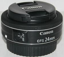 Canon EF-S 24mm f/2.8 STM 'pancake' prime lens [excellent condition]
