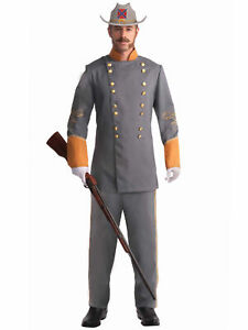Soldier Officer American Civil War Union Colonial Olden Day Men Costume Plus