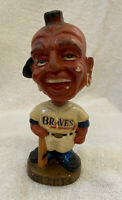 VINTAGE 1960s MLB ATLANTA BRAVES BASEBALL BOBBLEHEAD NODDER BOBBLE HEAD