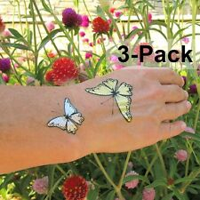 Temporary Butterfly Tattoos for Adults Summer Tattoo 3 Pack