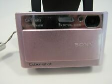 Sony Digital Camera Cyber-Shot DSC T20 Rose-Pink Carl Zeiss As Is For Parts